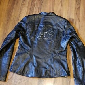 Harley-Davidson | Black Leather Motorcycle Jacket